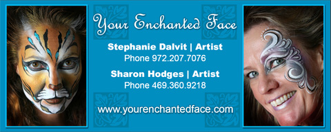 Your face painting business card face paint shop online for Face painting business