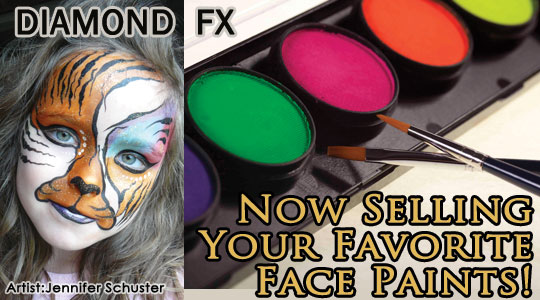 Face Paints & Face Painting Kits
