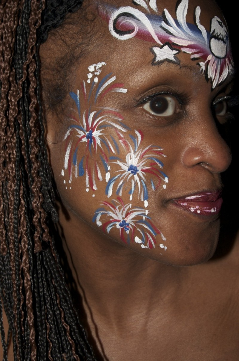 Face Paint The Story Of Makeup Amazon Co Uk Lisa: 4th July Face Painting Inspiration
