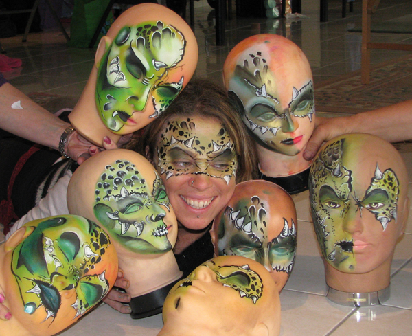 Face Painting & Body Art Workshops | Face Paint Shop Online