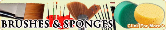 Buy Brushes and Sponges for Face Painting Online Here!