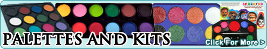 Face Paints Palettes and Kits