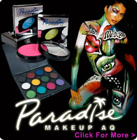 Face Paints by Paradise