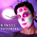 Sugar-Skull-Face-Paint-Tutorial for Halloween