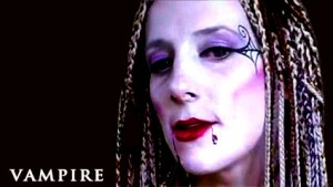 Vampire Face Painting Tutorial: Halloween Makeup