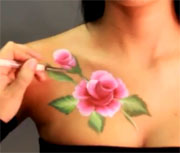 ROSE BODY PAINTING - PARADISE PRISMA BLENDSET