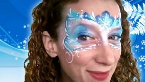 WINTER FAIRY FACE PAINTING VIDEO TUTORIAL (SNOW PRINCESS)