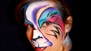 Fantasy Cat Face Painting Inspired By Mark Reid