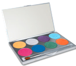 Paradise Make Up AQ Brillant Palette