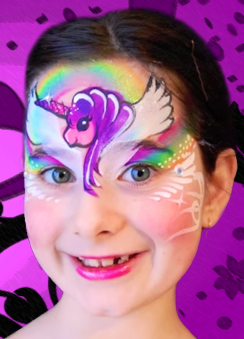 Butterfly Face Paint 45