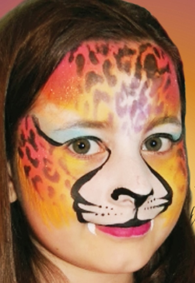 Intimidating face paint ideas