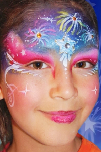 Fourth Of July Face Paint