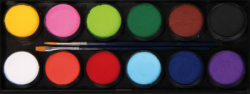 Face Paints Palette
