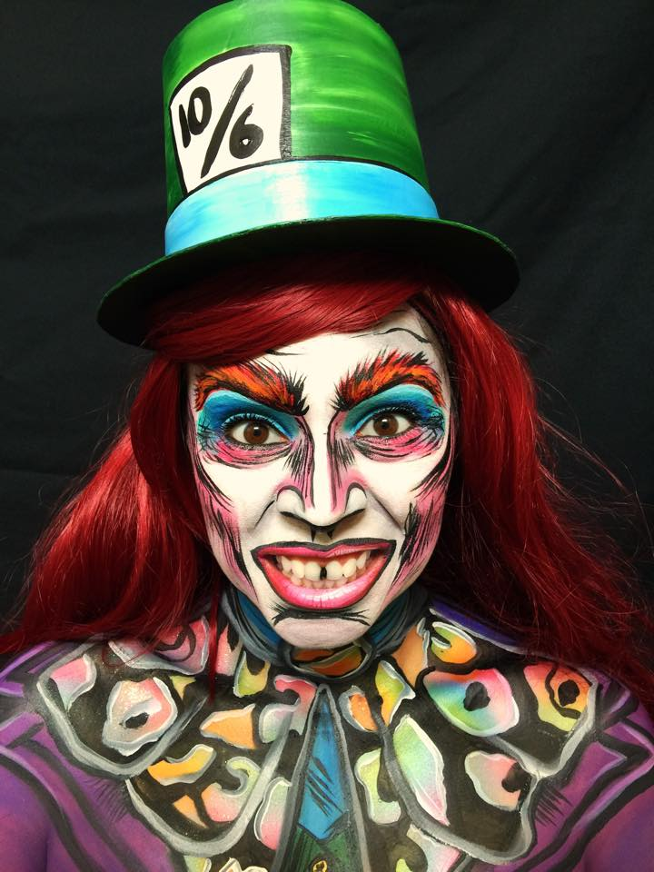 Lidia Ochoa face paint