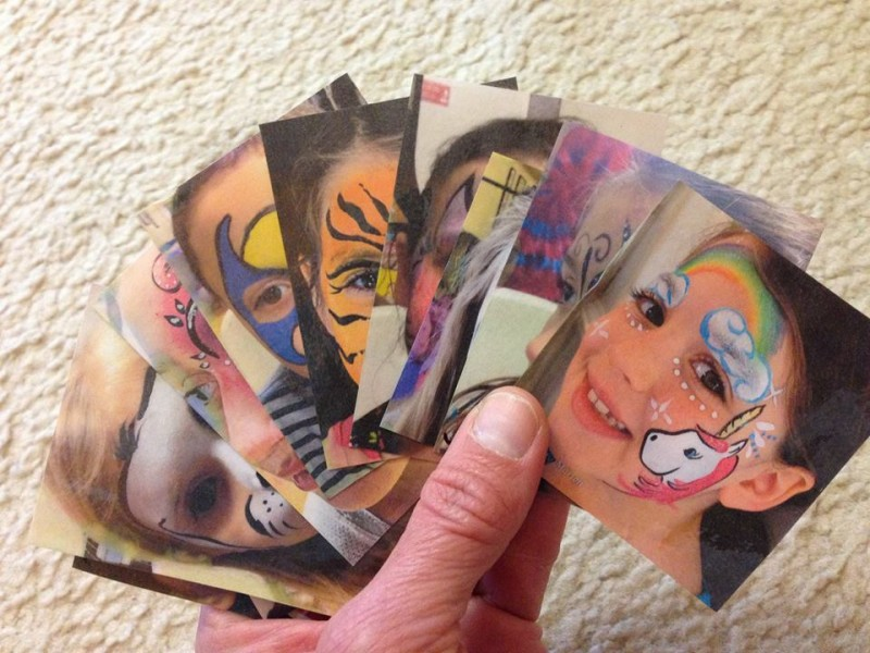 Marion Esposito‎'s Face Paint Reference Cards