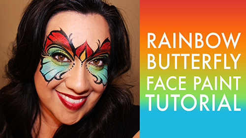 Rainbow Butterfly Video Tutorial by Shawna Del Real
