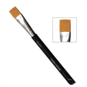 "Global Body Art Brush - 3/4"" Flat"