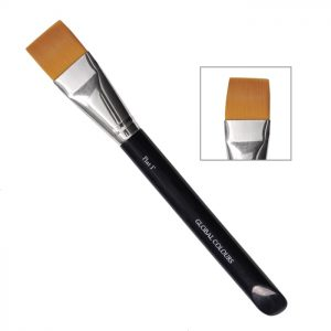 "Global Body Art Brush - 1"" Flat"