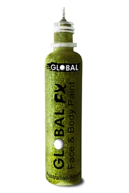 Global FX Glitter Gel - Lime Green 36ml/1.2oz