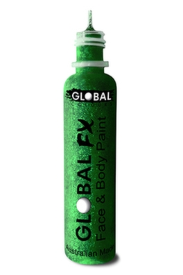 Global FX Glitter Gel - Emerald Green 36ml/1.2oz