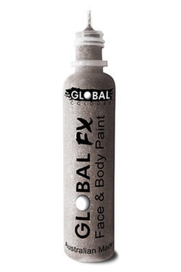 Global FX Glitter Gel - Silver 36ml/1.2oz