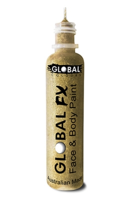 Global FX Glitter Gel - Soft Gold 36ml/1.2oz