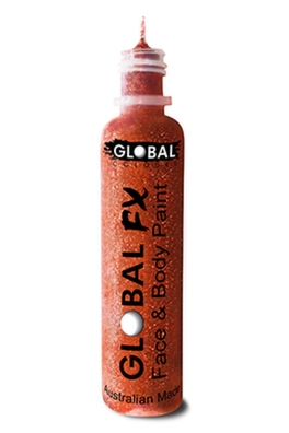 Global FX Glitter Gel - Iridescent Red 36ml/1.2oz