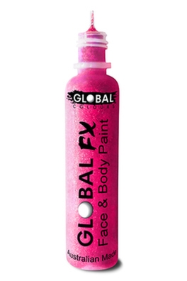Global FX Glitter Gel - Iridescent Pink 36ml/1.2oz