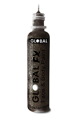 Global FX Glitter Gel - Jet Black 36ml/1.2oz