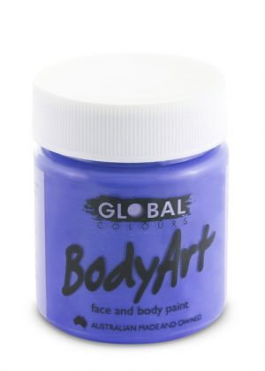Global Body Art Face Paint - Liquid Purple 45ml