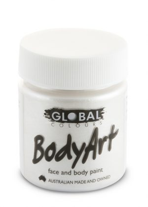 Global Body Art Face Paint - Liquid Metallic Pearl 45ml