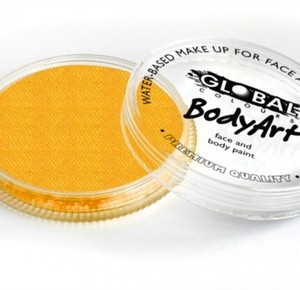 Global Body Art Face Paint- Metallic Gold 32gr