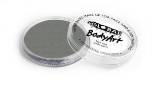 Global Body Art Face Paint - Metallic Silver 32gr