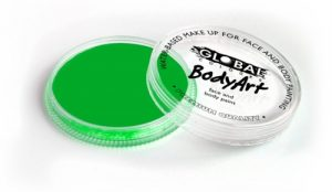 Global Body Art Face Paint - Neon Green 32gr
