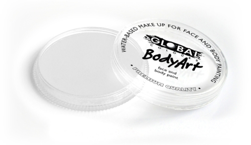 Global Body Art Face Paint - Neon White (Clear) 32gr