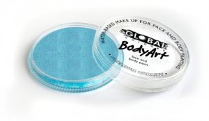 Global Body Art Face Paint - Pearl Blue 32gr