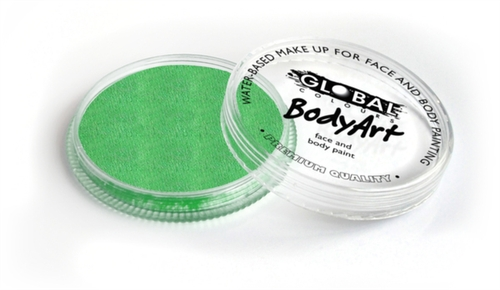 Global Body Art Face Paint - Pearl Lime Green 32gr