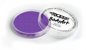 Global Body Art Face Paint - Pearl Purple 32gr