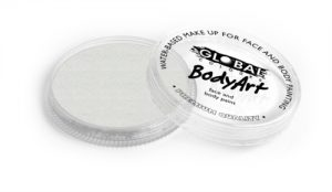 Global Body Art Face Paint - Pearl White 32gr