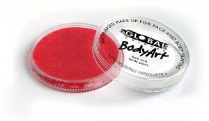 Global Body Art Face Paint - Pearl Red 32gr