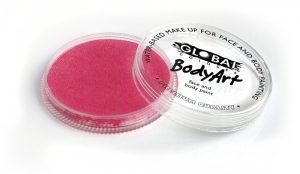 Global Body Art Face Paint - Pearl Pink 32gr