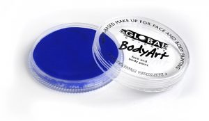 Global Body Art Face Paint - Pearl Deep Blue 32gr