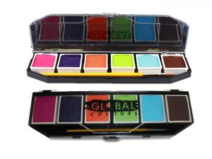 Global Body Art Palette - 6 Caribbean