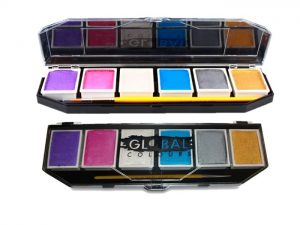 Global Body Art Palette - 6 Pearl