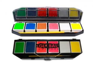 Global Body Art Palette - 6 Neon