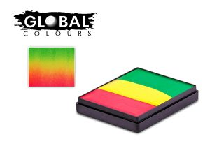 Global Body Art Face Paint - Rainbow Cake New Orleans 50gr