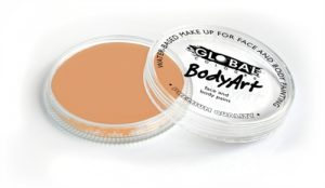 Global Body Art Face Paint - Standard Apricot 32gr