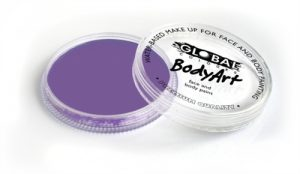Global Body Art Face Paint - Standard Lilac 32gr