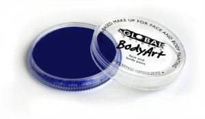 Global Body Art Face Paint - Standard Dark Blue 32gr
