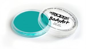 Global Body Art Face Paint - Standard Teal 32gr